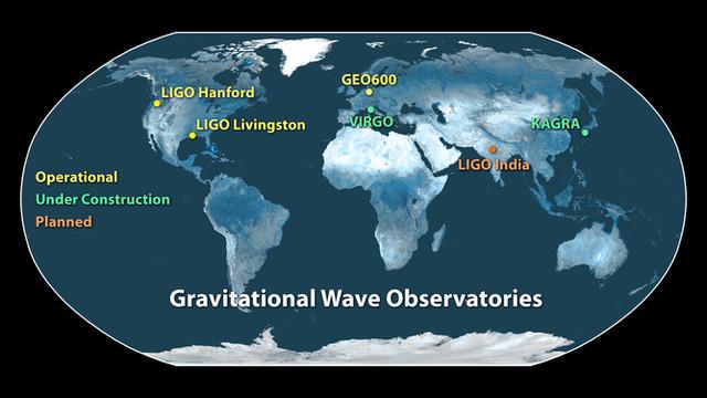 Các cơ sở nghiên cứu của LIGO trên toàn thế giới