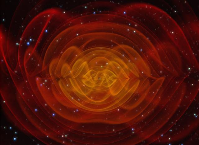 Mô tả sóng hấp dẫn của một cặp sao đôi