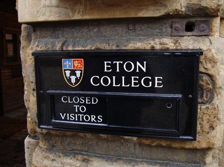 Trường nội trú Eton nổi tiếng của nước Anh.