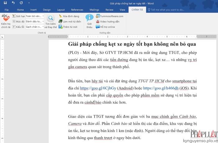 2 phần mềm kiểm tra chính tả tiếng Việt - Ảnh 3