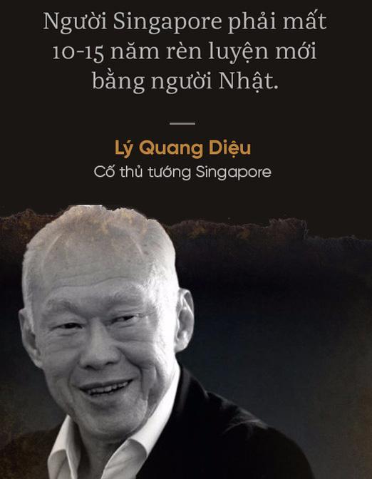 Cố thủ tướng Lý Quang Diệu chỉ ra điều người Nhật vượt trội tất cả các quốc gia châu Á, riêng Singapore mất 10-15 năm mới gần bằng họ - Ảnh 2.