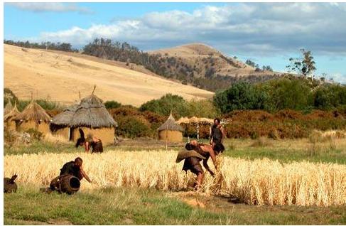 The neolithic revolution - bắt đầu vào cuối kỷ băng hà