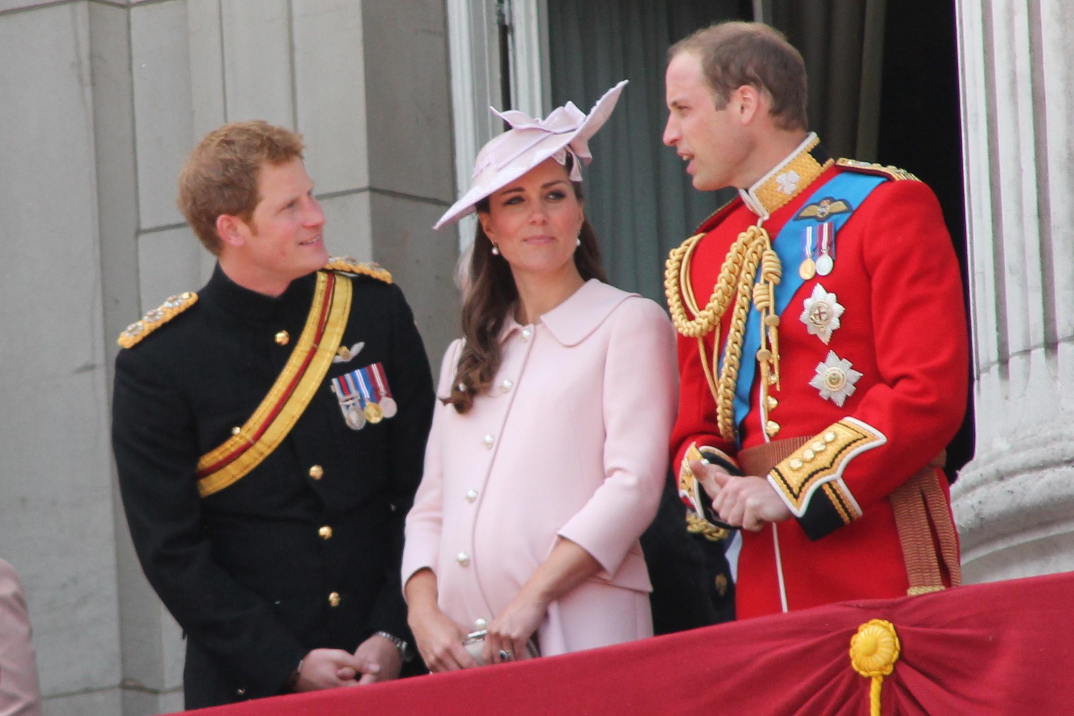 William và Hoàng tử Harry (Ảnh:wiki)