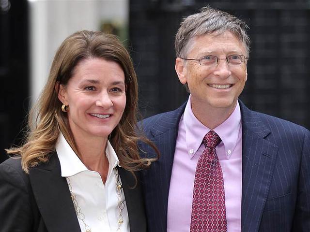 Bill Gates và vợ, bà Melinda Gates. (Ảnh:Getty Images)