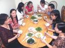 Buổi cơm trong gia đình