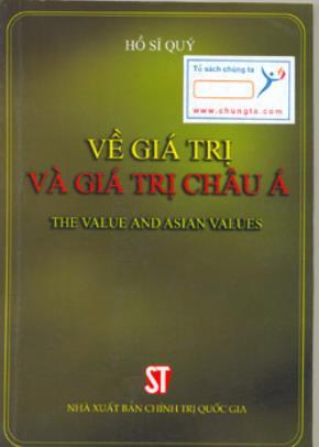 Về giá trị và giá trị Châu Á