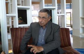 Tướng Pháp Daniel Schaeffer trong cuộc phỏng vấn với phóng viên Dân Trí.