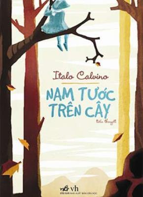 """Bìa sách """"Nam tước trên cây"""", bản tiếng Việt."""