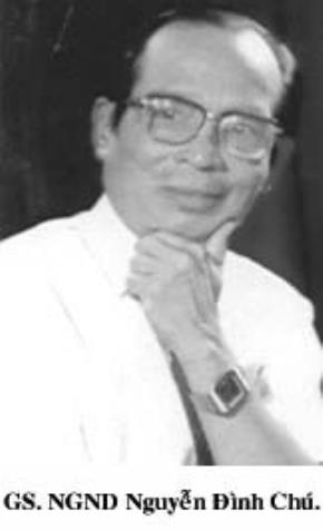 Giáo sư - Nhà giáo nhân dân Nguyễn Đình Chú