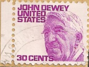 Nhà giáo dục John Dewey được vinh danh trên tem của Mỹ. Ảnh: Corbis