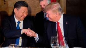 Chủ tịch Trung Quốc Tập Cận Bình và Tổng thống Mỹ Donald Trump sẽ cùng dùng bữa tối tại Buenos Aires ngày 1/12. Ảnh: AFP.