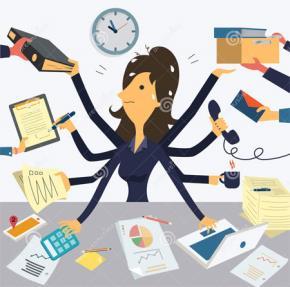 Trong 8 giờ hành chính, một nhân viên thực sự làm việc hiệu quả được bao lâu?