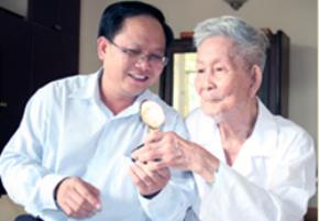 15 phút với GS. Trần Văn Giàu
