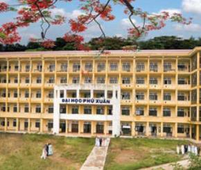 Trường Đại học dân lập Phú Xuân Huế do Hội Khuyến học Thừa Thiên - Huế thành lập.