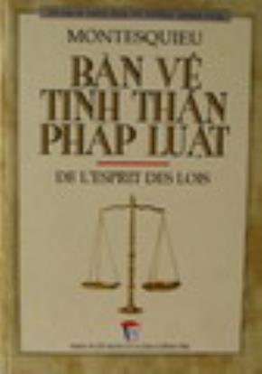"""Sách """"Bàn về tinh thần pháp luật"""""""