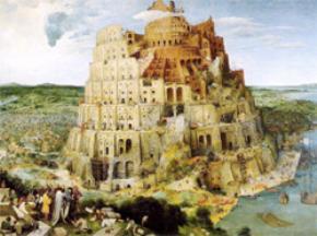 Tháp Babel và sự hỗn loạn về ngôn ngữ