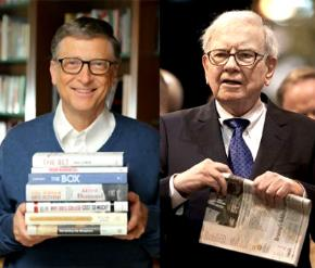 Bill Gates và Warren Buffett.