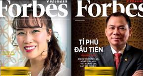 Hai tỷ phú hàng đầu Việt Nam