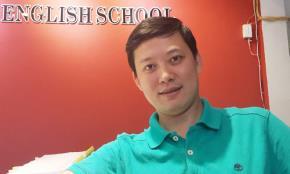 Anh Nguyễn Tuấn Hải hy vọng trẻ em không chỉ học tiếng Anh