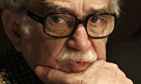 Nhà văn Garcia Marquez. Ảnh: Reuters.
