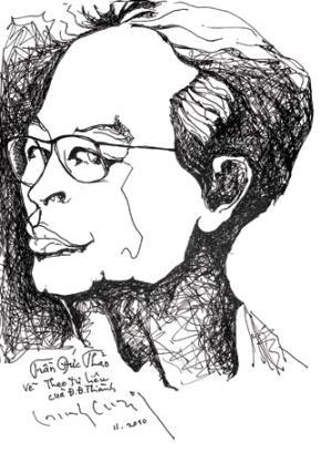 Chân dung hội họa: Trịnh Cung