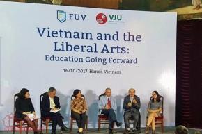"""Hội thảo """"Giáo dục khai phóng : Hướng đi mới cho giáo dục đại học tại Việt Nam"""""""