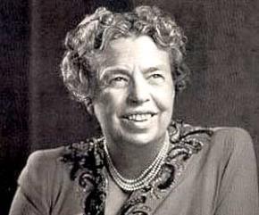 Eleanor Roosevelt (1884-1962) chính khách Mỹ, đệ nhất phu nhân Hoa Kỳ