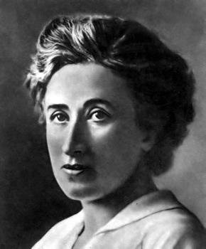 Rosa Luxemburg  (1871-1919)  (Ảnh: iesmcervantes.es)