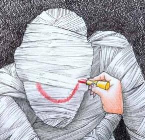 Tranh minh họa của Kuang Biao (Hồng Kông) – Paint on a Smile