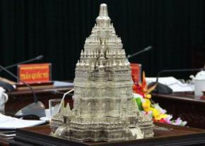 Mô hình chùa Tháp sẽ được xây dựng tại tỉnh Thái Nguyên. Ảnh: thainguyen.gov.vn