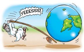 Hãy cho tôi một đòn bẩy và một điểm tựa, tôi sẽ nhấc bổng trái đất lên! (Archimedes)