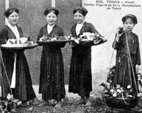Phụ nữ Bắc Kỳ đầu thế kỷ 19