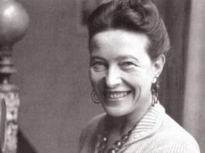 Simone de Beauvoir  (1908-1986) - nhà văn và nhà triết học người Pháp