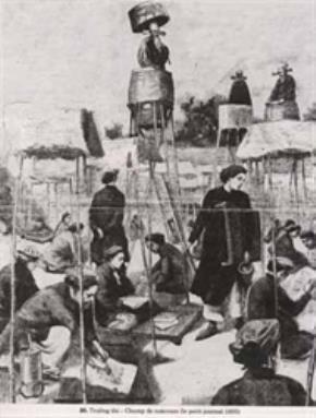 Một cảnh thi năm 1895 (tranh vẽ).