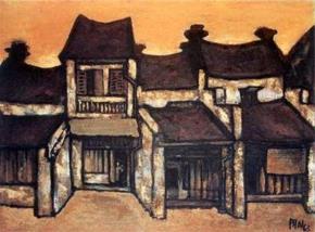 Phố Hà Nội trong tranh họa sĩ Bùi Xuân Phái