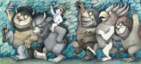 Các nhân vật được minh họa trong Ở nơi quỷ sứ  giặc non (Where the wild things are) của tác giả  Maurice Sendak gây tranh cãi do dáng vẻ kỳ cục.