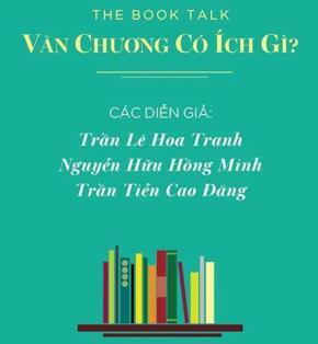 """""""The Book Talk - Văn Chương Có Ích Gì?"""" tại Nhã Nam Thư quán Sài Gòn - 8/11/2014. Ảnh: Nhã Nam & Trịnh Bảo Bàng"""