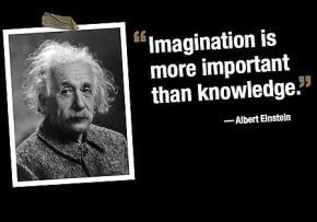 Trí tưởng tượng quan trọng hơn kiến thức