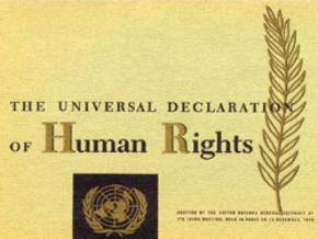 Tuyên ngôn toàn thế giới về nhân quyền của Liên Hợp Quốc (*)