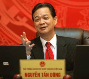 Thủ tướng Nguyễn Tấn Dũng đối thoại trực tuyến với nhân dân ngày 9/2/2007