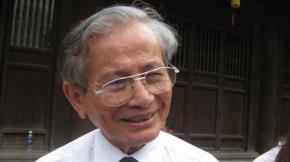 Giáo sư, nhà giáo nhân dân Phan Huy Lê - Ảnh: Thư Hiên