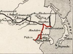 Khúc cuối của tuyến đường sắt xuyên Sibir, kết nối Nga với Trung Quốc