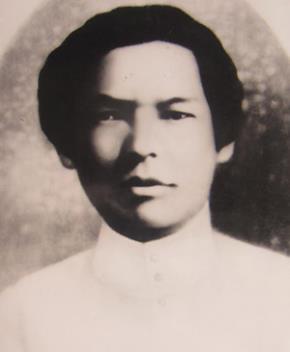 Nguyễn An Ninh năm 20 tuổi, vừa đỗ cử nhân luật tại Paris - Ảnh tư liệu gia đình