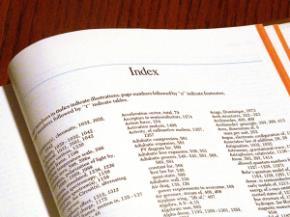 Vai trò của index trong một cuốn sách
