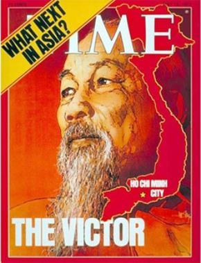 Bìa tạp chí Time 12-5-1975: Người chiến thắng