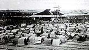 Trường thi Nam Định năm 1912