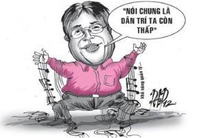 Dân trí người Việt trẻ: thấp hay không thấp?