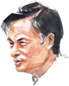 Tiến sĩ Nguyễn Quang A. Tranh: Hoàng Tường