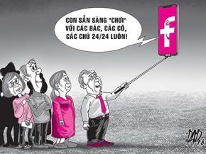 Mạng xã hội là nơi người ta sống đãi bôi với nhau