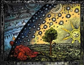Minh họa về chiêm tinh năm 1888